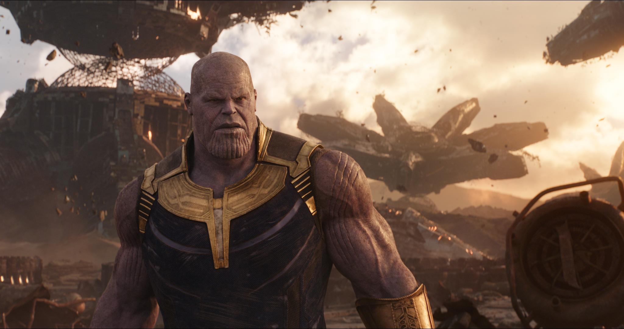 Thanos (Josh Brolin) é simplesmente o melhor vilão!