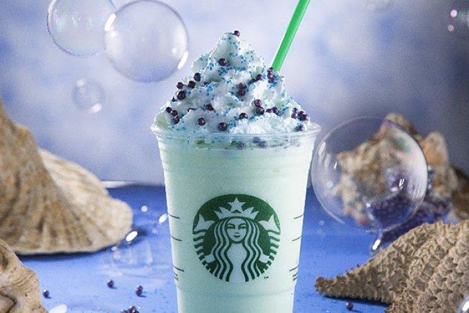 Ele chegou! Starbucks Brasil agora também vende o Frappuccino 'de sereia'