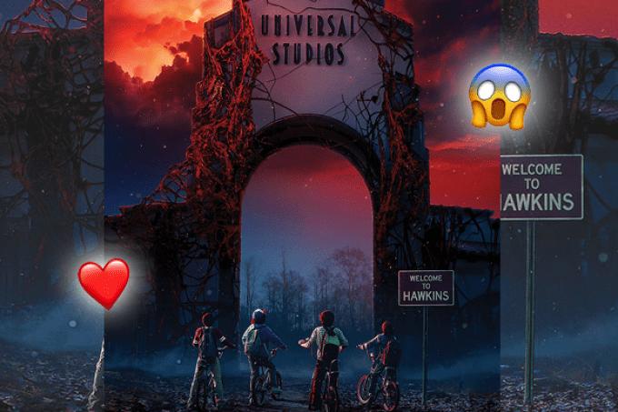 Halloween do Universal Studios terá Stranger Things e Demogorgon!