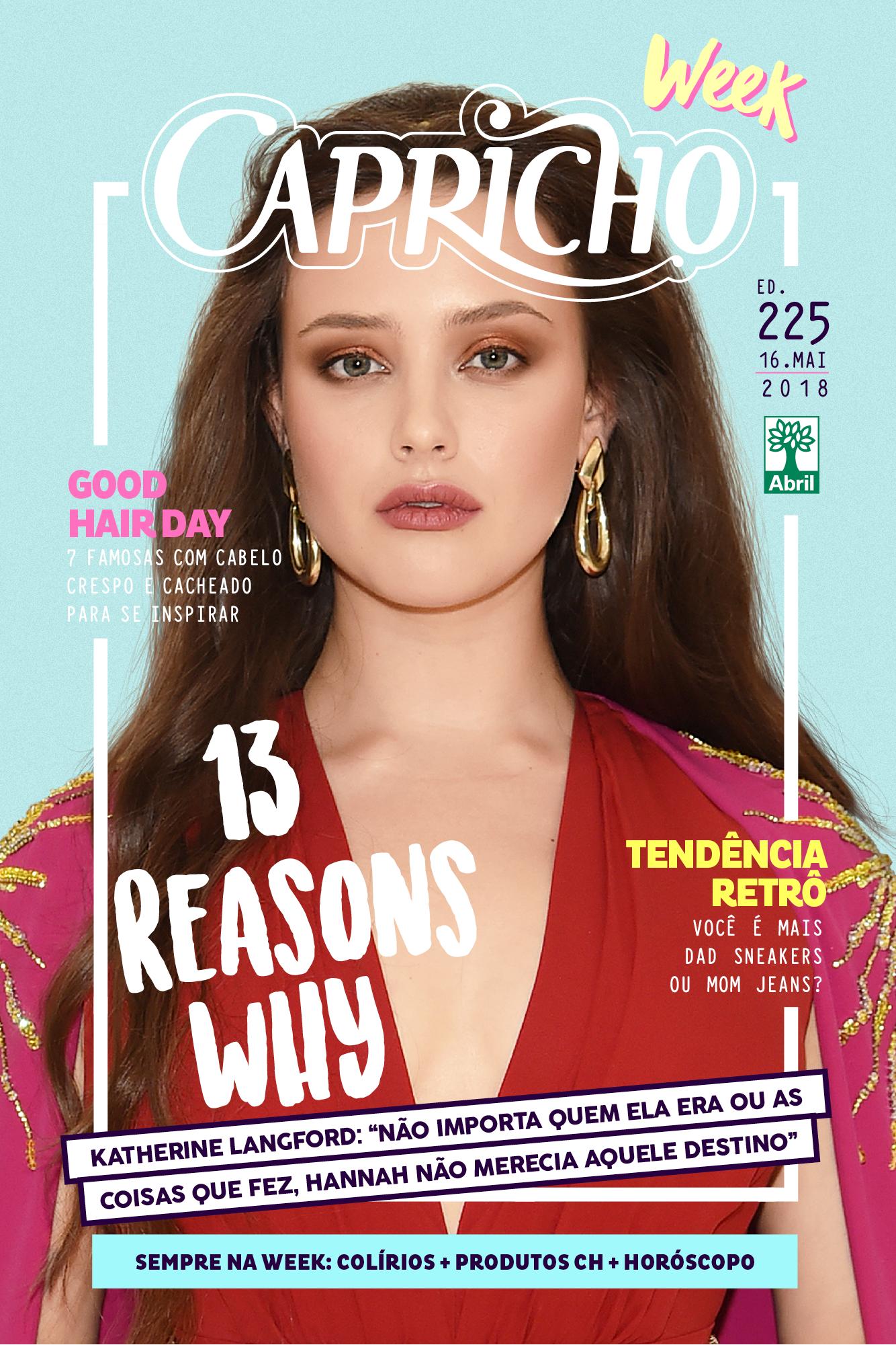 Katherine Langford está linda na capa da CH WEEK!