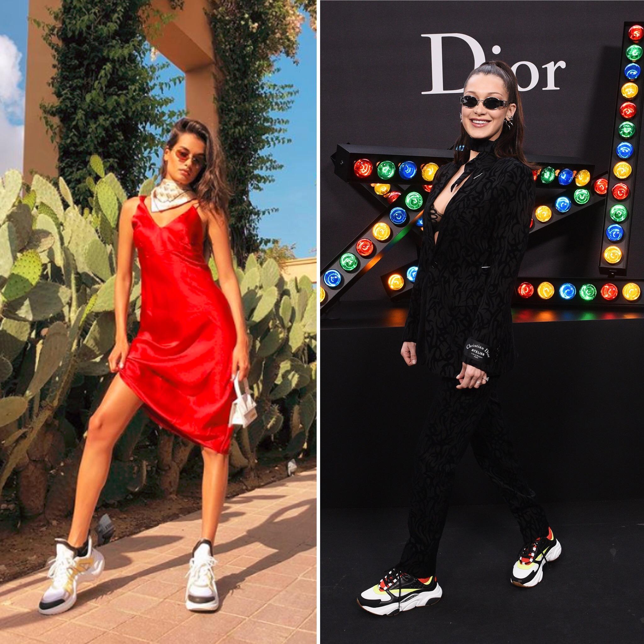 dad-sneaker-bella-hadid-gizele-oliveira