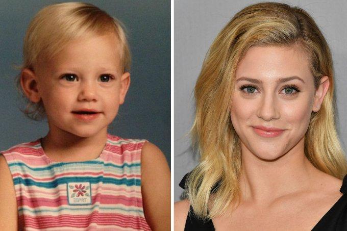 antes-e-depois-lili-reinhart-riverdale-crianca