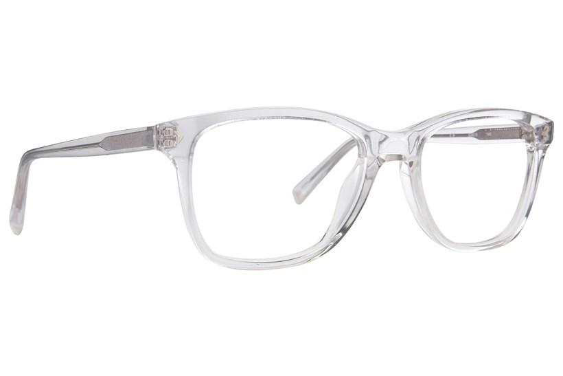 armação transparente de óculo9s de grau usados por Kylie Jenner