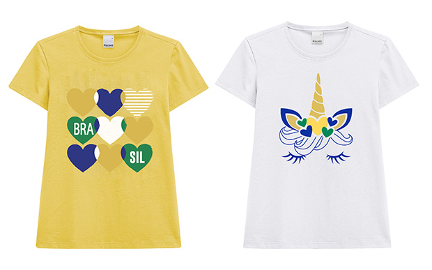 8- Camiseta Malwee (R$ 45,90*); 9- Camiseta Malwee (R$ 45,90*).