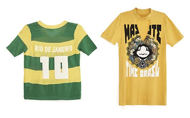 14- Tricô Farm (R$ 249*); 15- Camiseta Farm (R$ 159*).