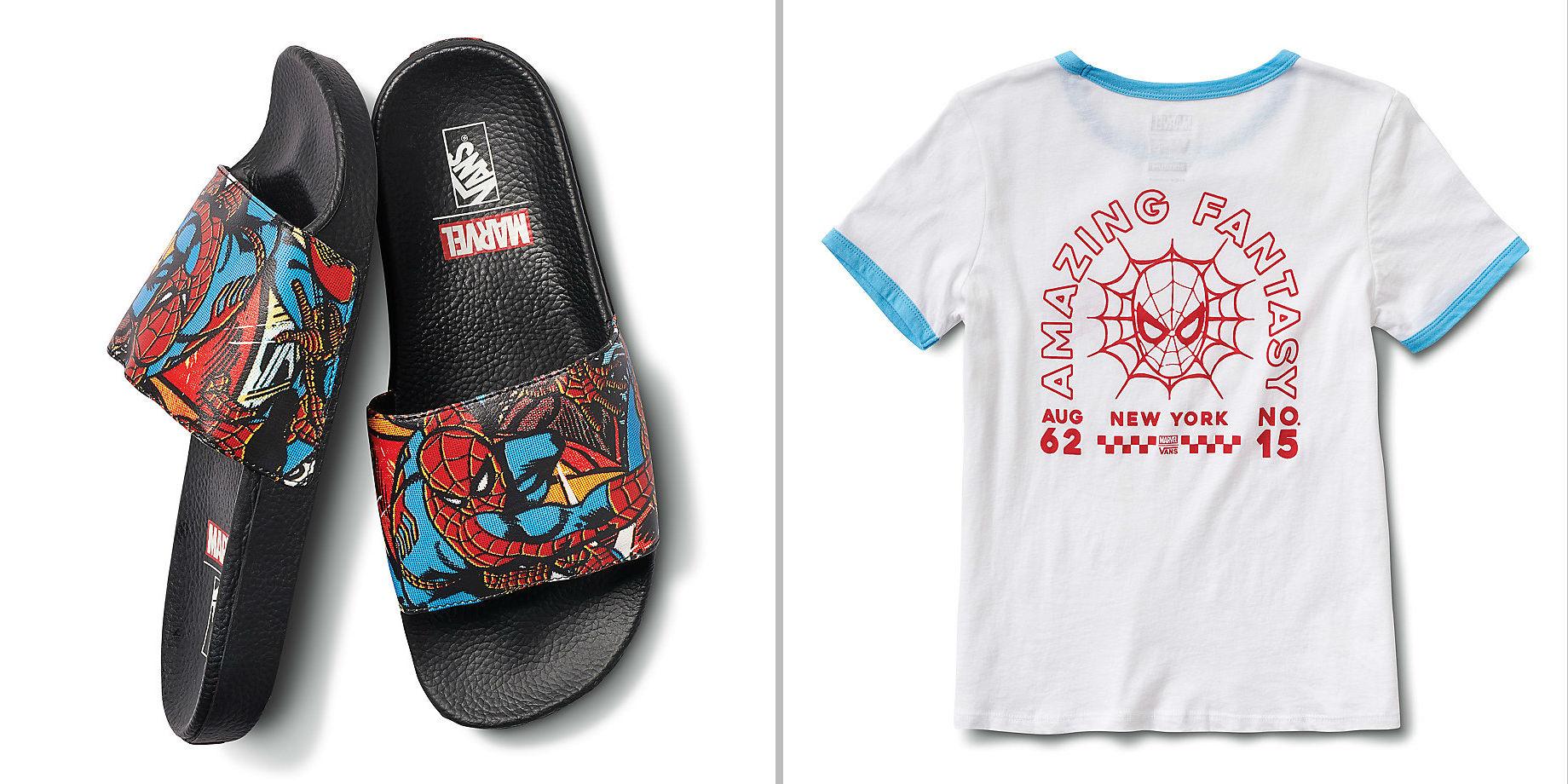 camiseta-chinelo-homem-aranha-marvel-vans