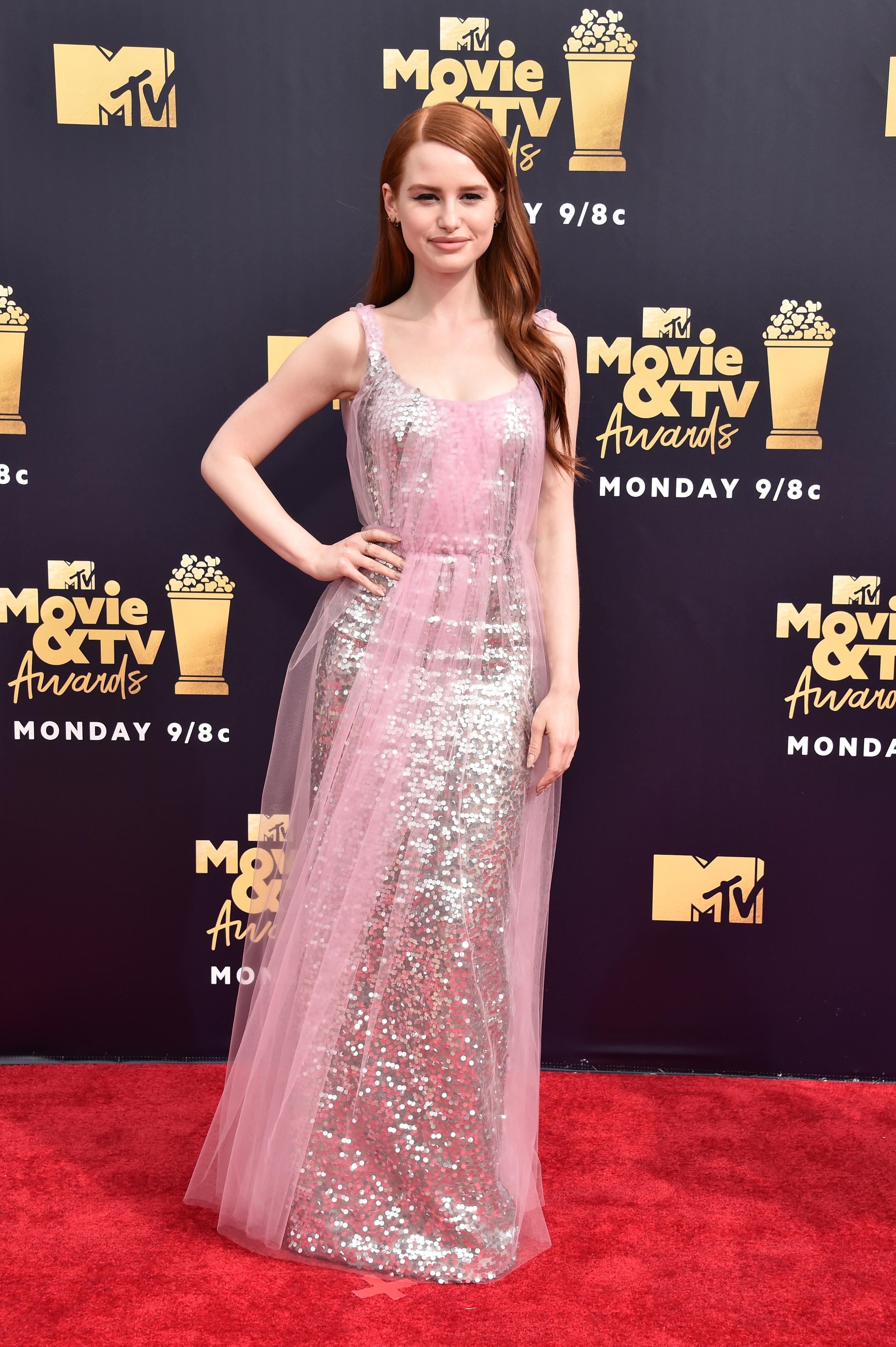 madelaine-petsch- MTV Movie And TV Awards-2018
