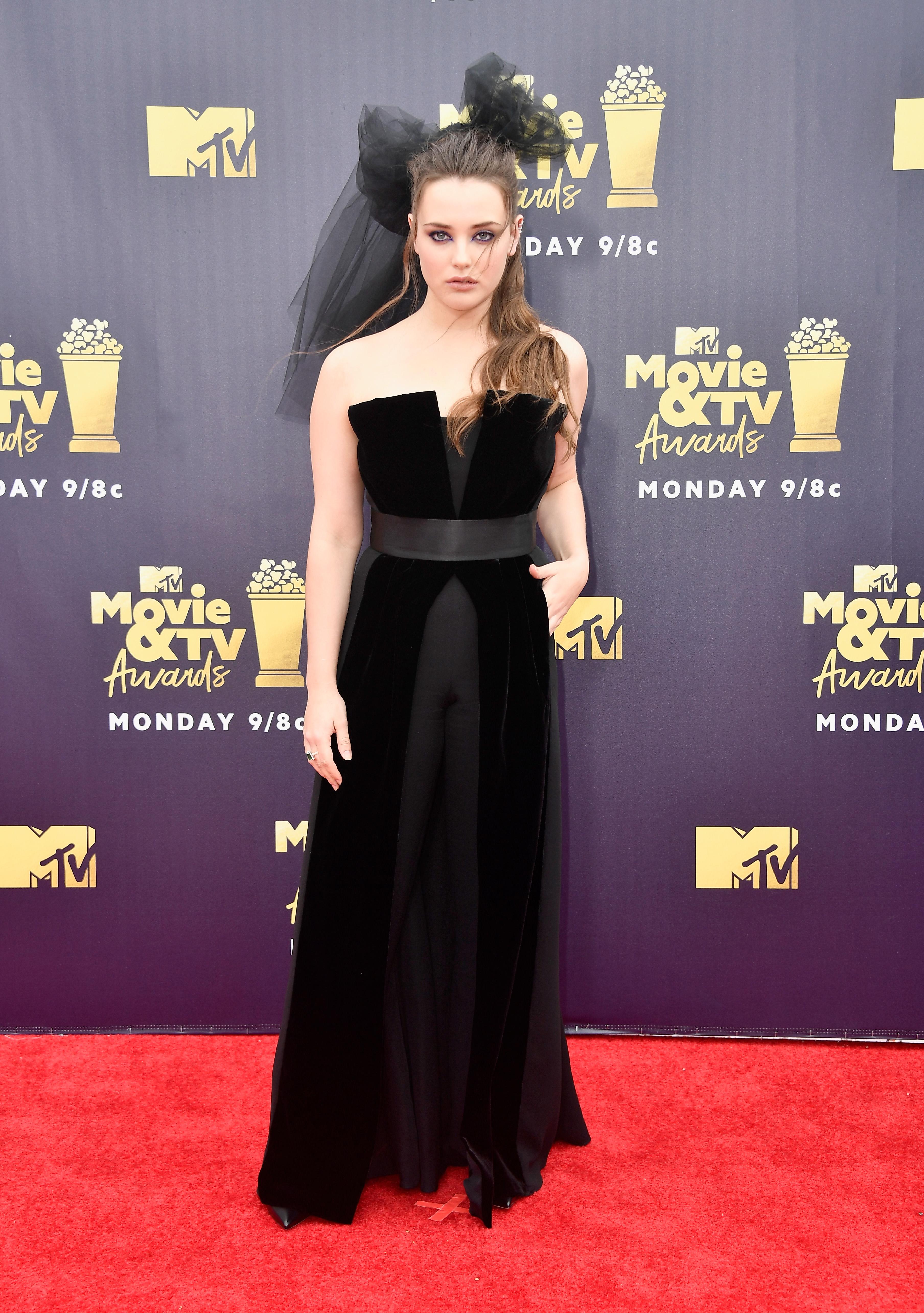 Katherine-langford-MTV Movie And TV Awards-2018