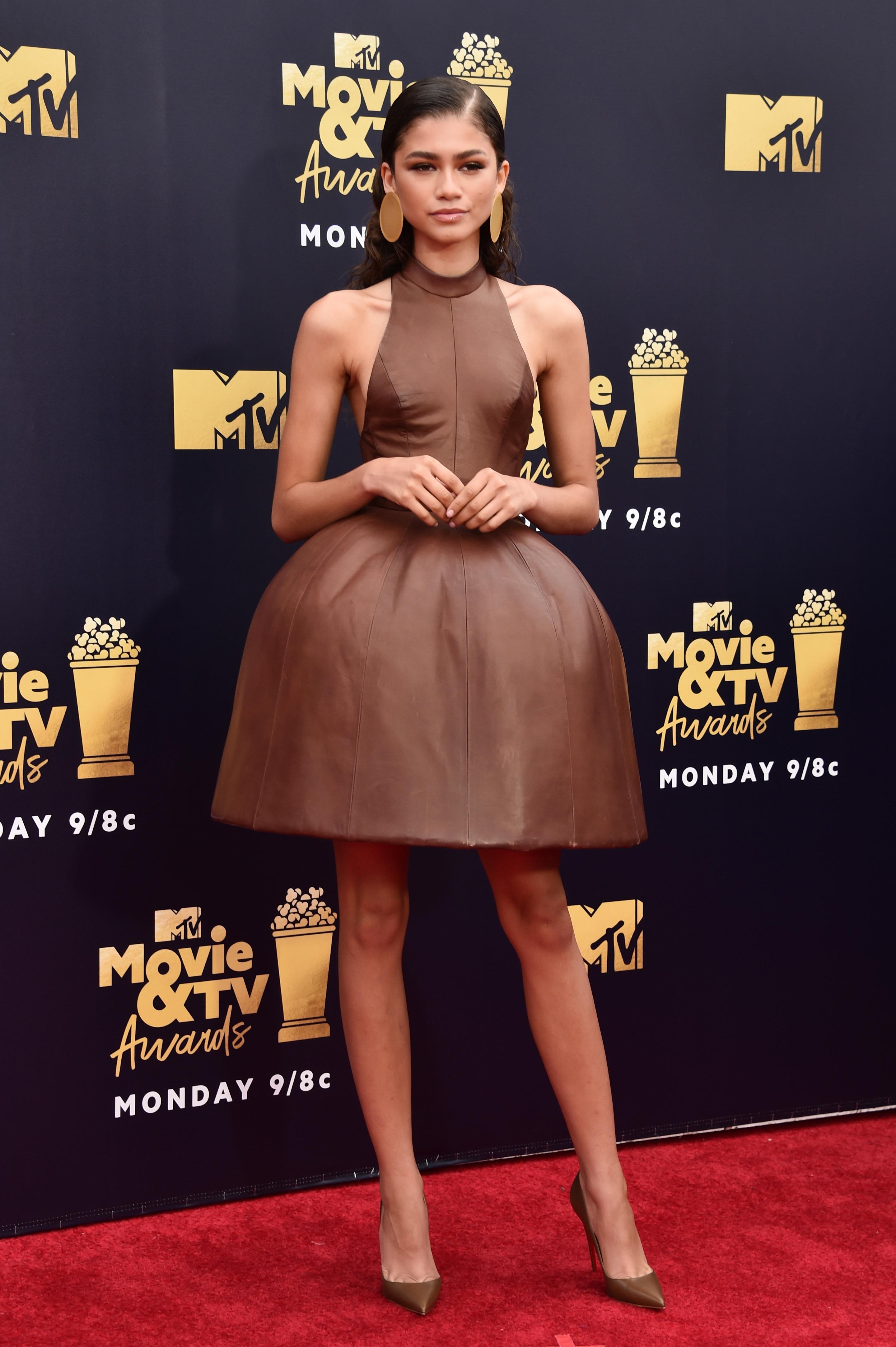 zendaya-MTV Movie And TV Awards-2018