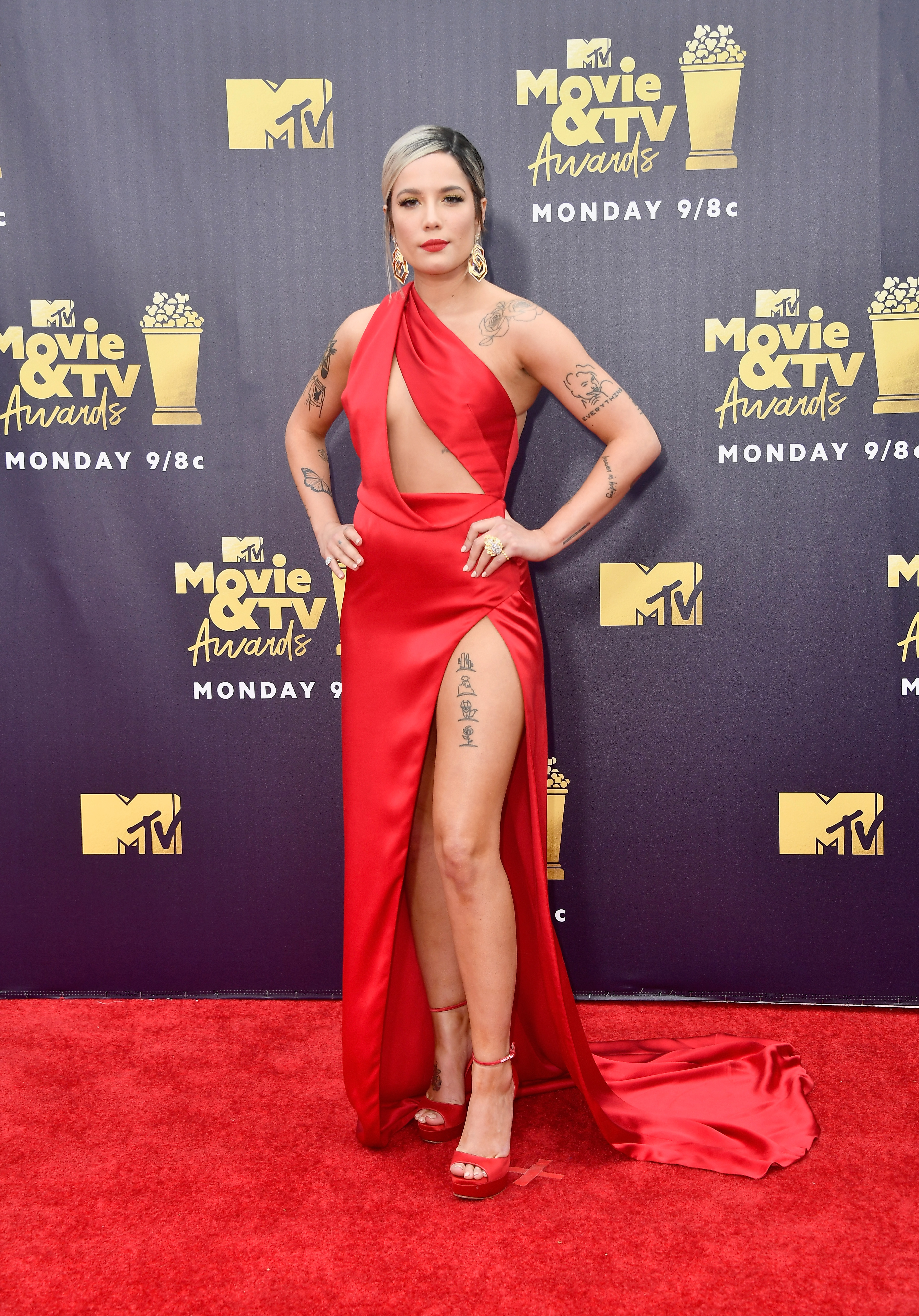 halsey- MTV Movie And TV Awards - 2018