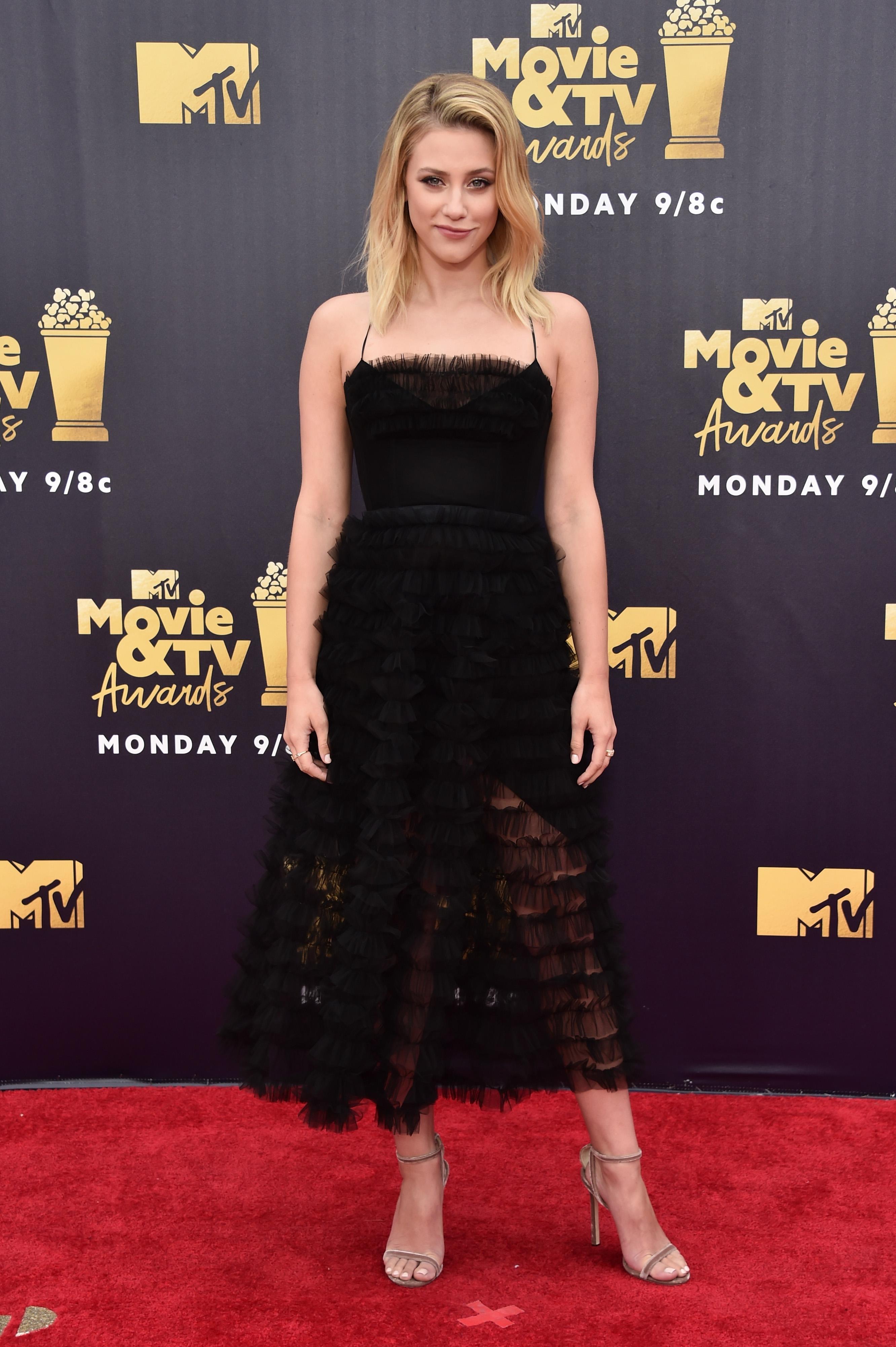 lili-reinhart-MTV Movie And TV Awards 2018