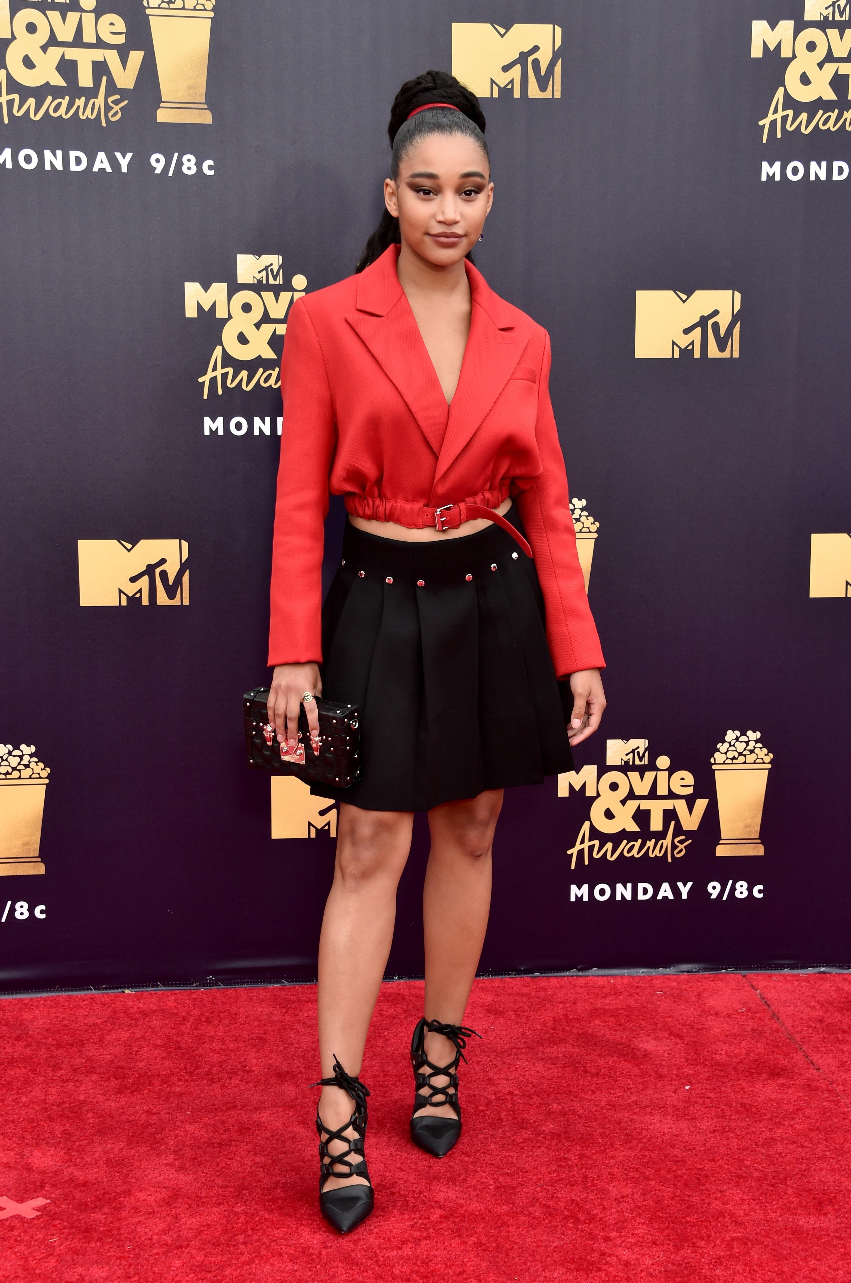 amandla-stenberg- MTV Movie And TV Awards - 2018