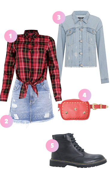 Look de Festa Junina: jeans com jeans é misturinha certeira e fica a cara das festas