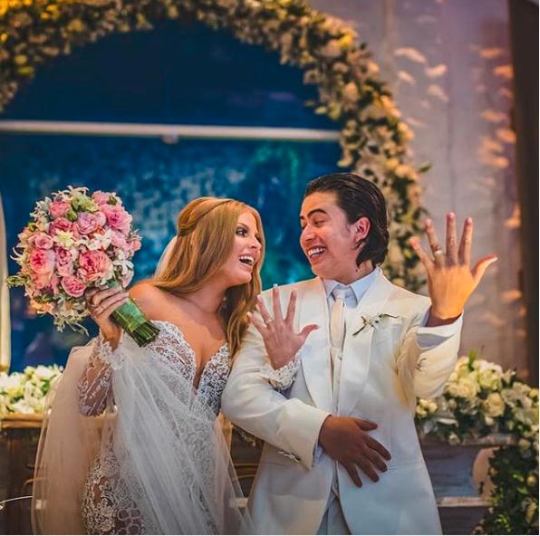 Luísa Sonza e Whindersson Nunes se casaram em fevereiro de 2018.