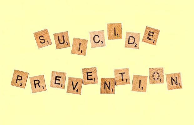 """Imagem com a frase: """"Prevenção ao suicídio"""""""