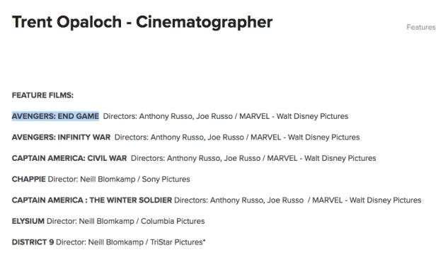 avengers-4-diretor-fotografia