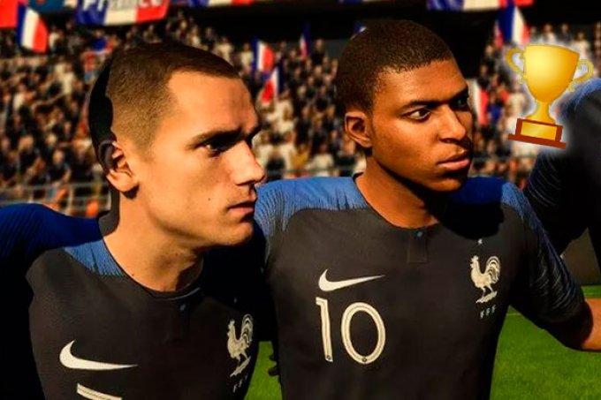Jogo FIFA 18 previu vitória da França e vários resultados da Copa do Mundo