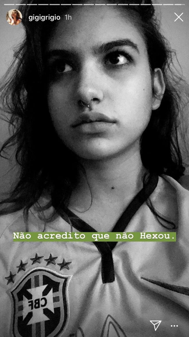 Giovanna Grigio copa do mundo