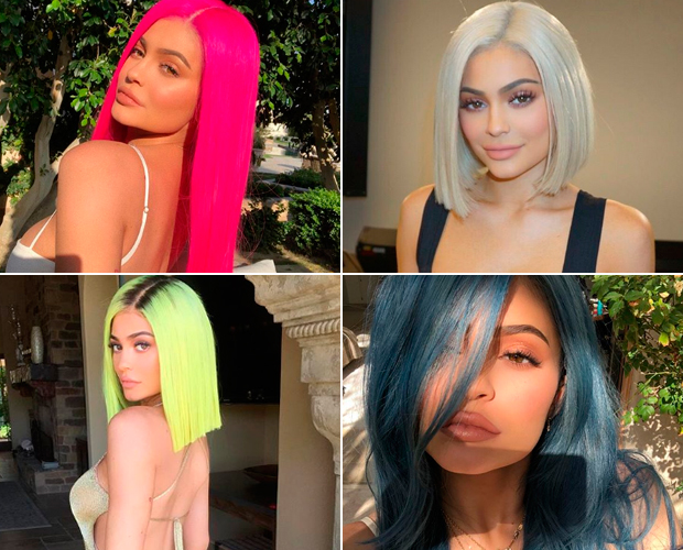 kylie-jenner-cabelos-coloridos