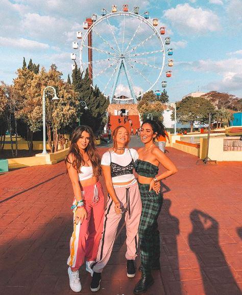 Looks de Maria Saad e Jade Seba no aniversario da gabi Lopes