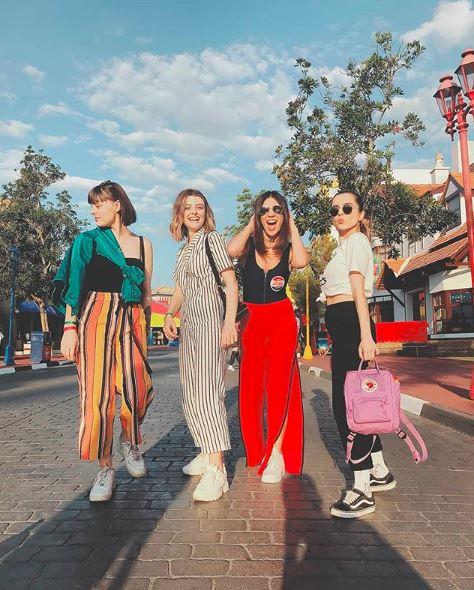 Looks de Marina Peixoto, Mariana Andrade, Foquinha e Giovanna Ferrarezi no aniversario da gabi lopes