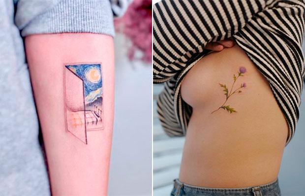 Essa conta no Instagram posta tatuagens que são verdadeiras obras de arte!