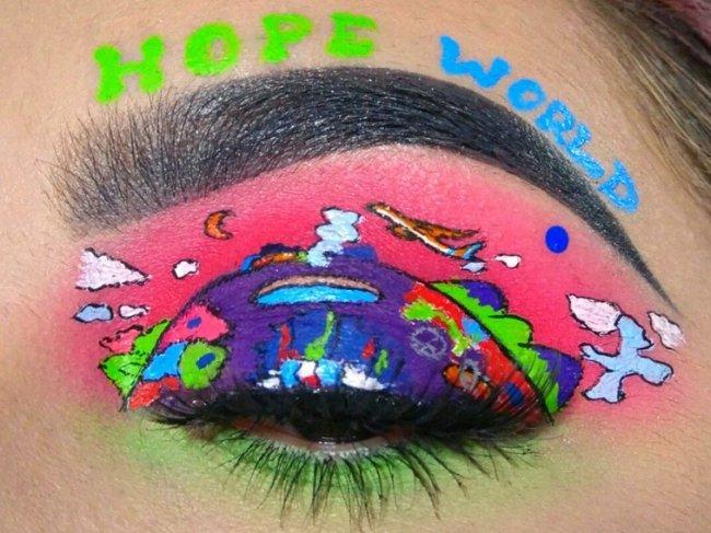 fa-cria-maquiagens-inspiradas-no-grupo-de-kpop-bts