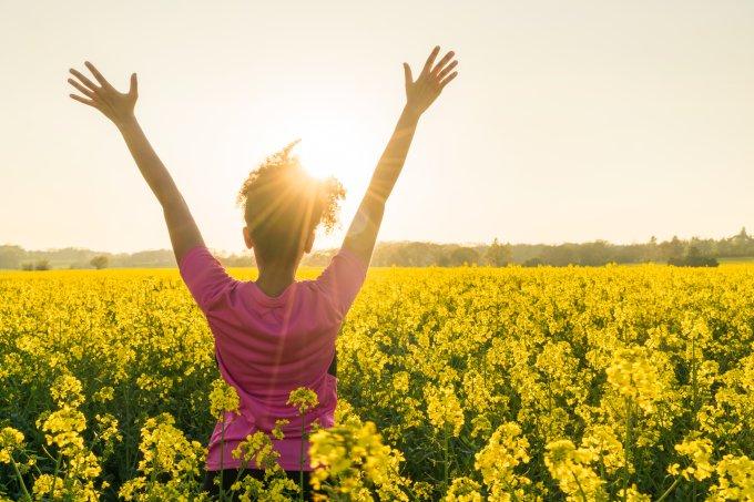 O que você está fazendo para se sentir melhor consigo mesma?