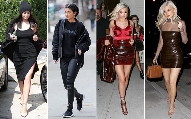 2016- no street- style: O mix do glamouroso com o esportivo e looks nada convencionais transformaram Kylie em um dos ícones fashion do street style em 2016.