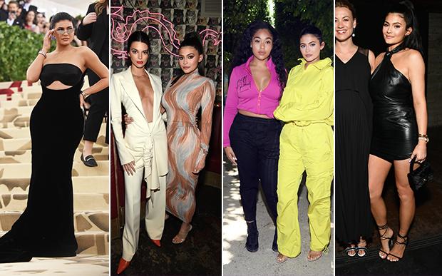 2018- no red carpet: Depois do nascimento da pequena Stormi, Kylie voltou a reaparecer toda cheia de glamour no tapete vermelho e nos desfiles de moda. Ela foi do oversized ao comprimentos micro.