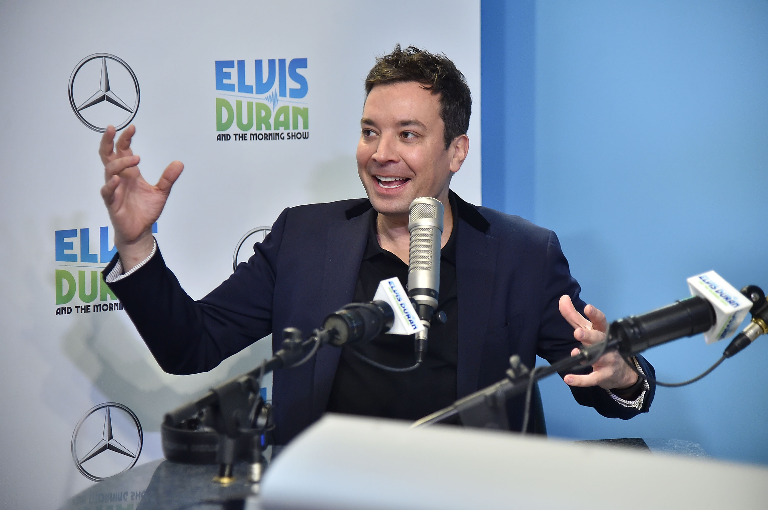 "Jimmy Fallon Visits ""The Elvis Duran Z100 Morning Show"""