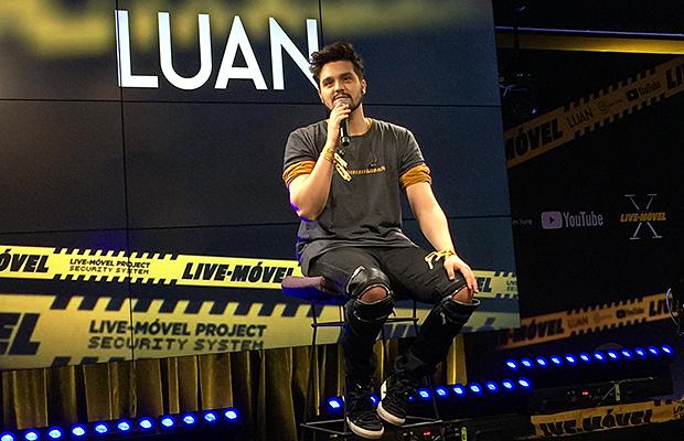 Em novo projeto, Luan Santana traz para o Sofazinho debate sobre machismo