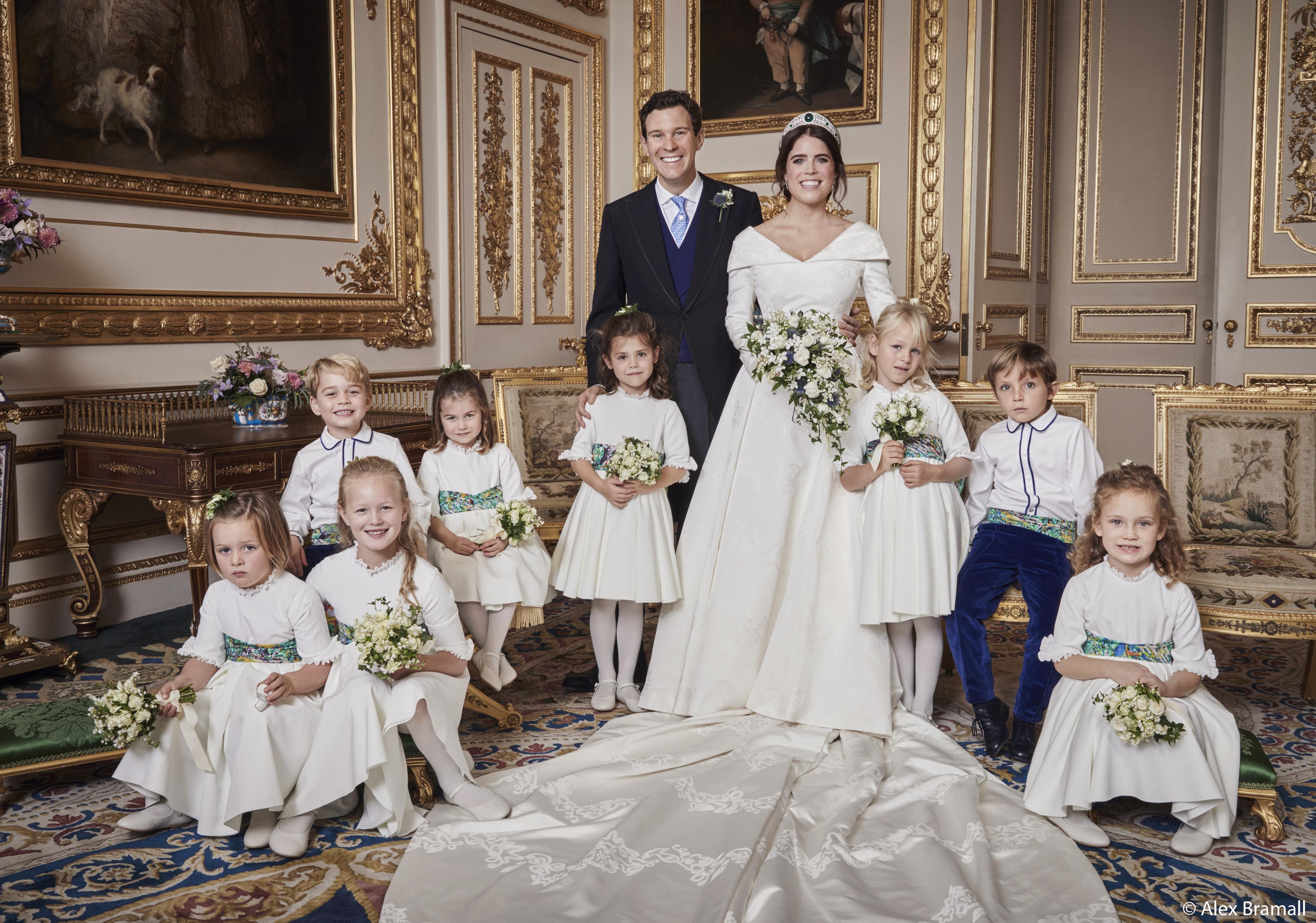 casamento-princesa-eugenie-foto-oficial-daminhas-pajens