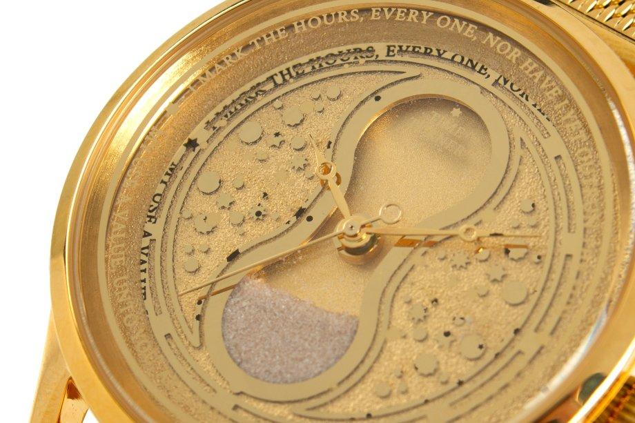 Ter uma ampulheta vira tempo em um relógio é uma ideia brilhante!