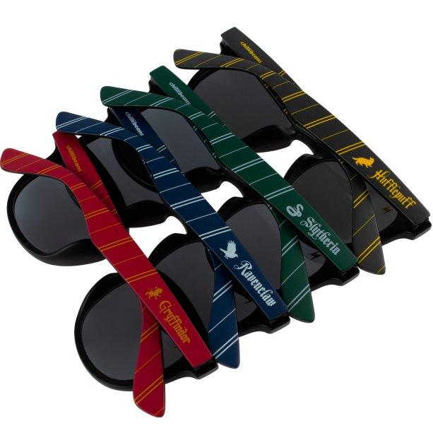 Os óculos com as cores das casas de Hogwarts!