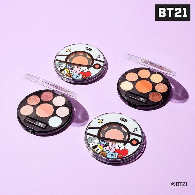colecao-maquiagem-BTS-kpop-paleta-de-sombras