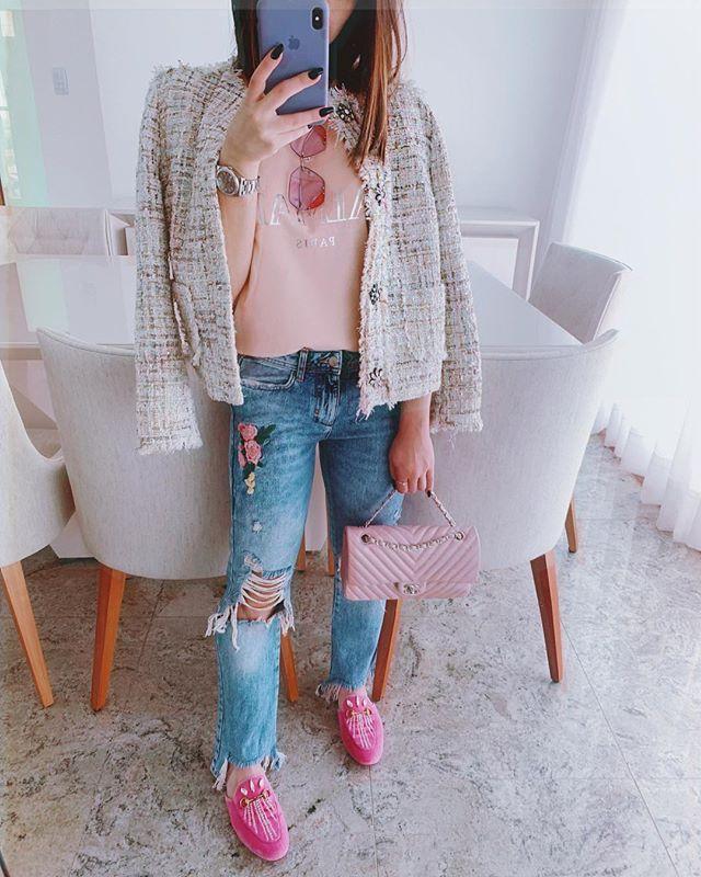 Flavia Pavanelli looks rosa meninas malvadas