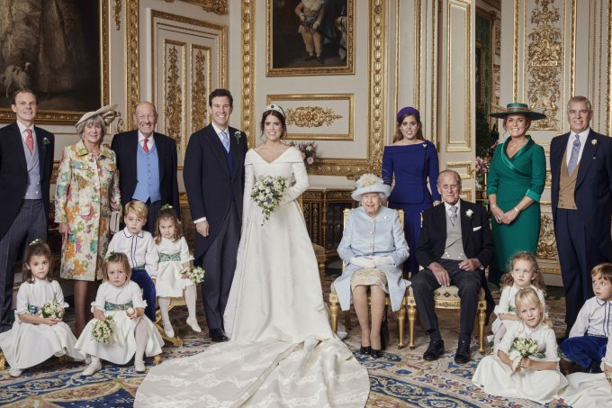 foto-oficial-casamento-princesa-eugenie-familia-real