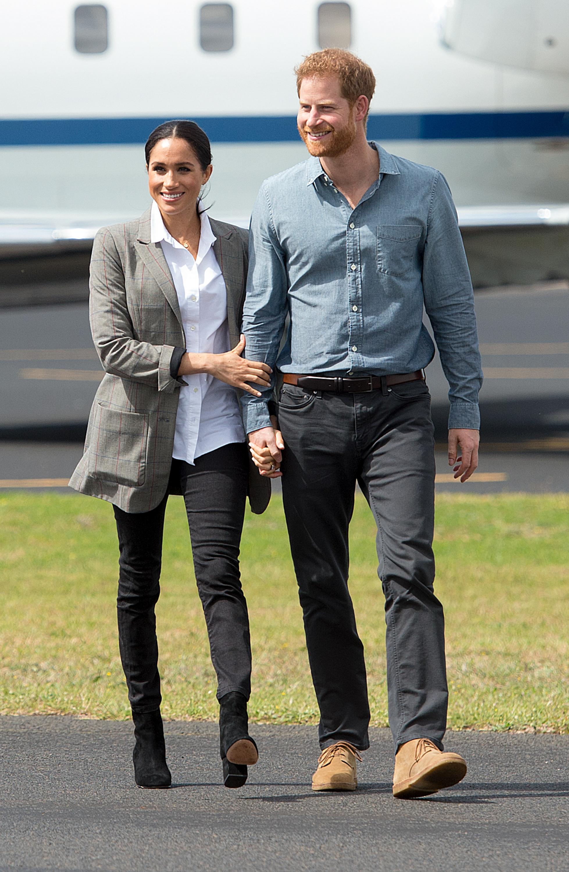Meghan Markle e Harry em passagem pela Austrália