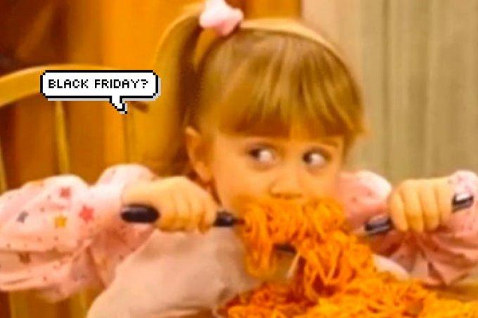 Esta Black Friday será o melhor dia do ano para quem ama comida!