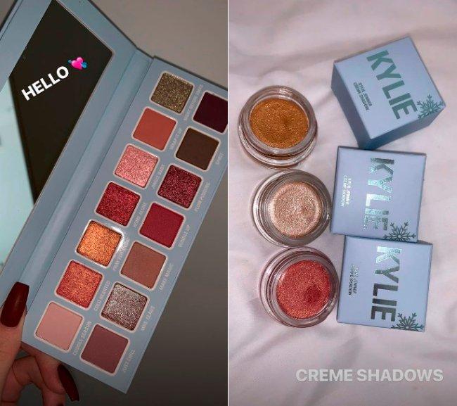 coleção-final-de-ano-kylie-cosmetics-kylie-jenner-sombra-em-creme-paleta-de-sombras