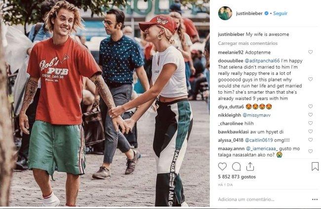 justin-bieber-instagram-hailey-baldwin-esposa
