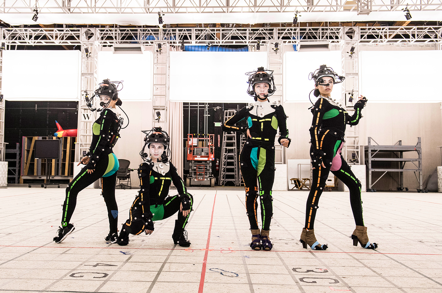 O quarteto virtual K/DA.