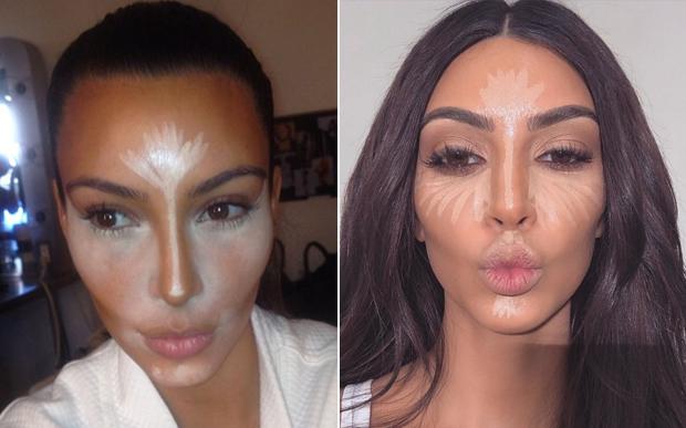 kim-kardashian-mudança-maquiagem-corretivo