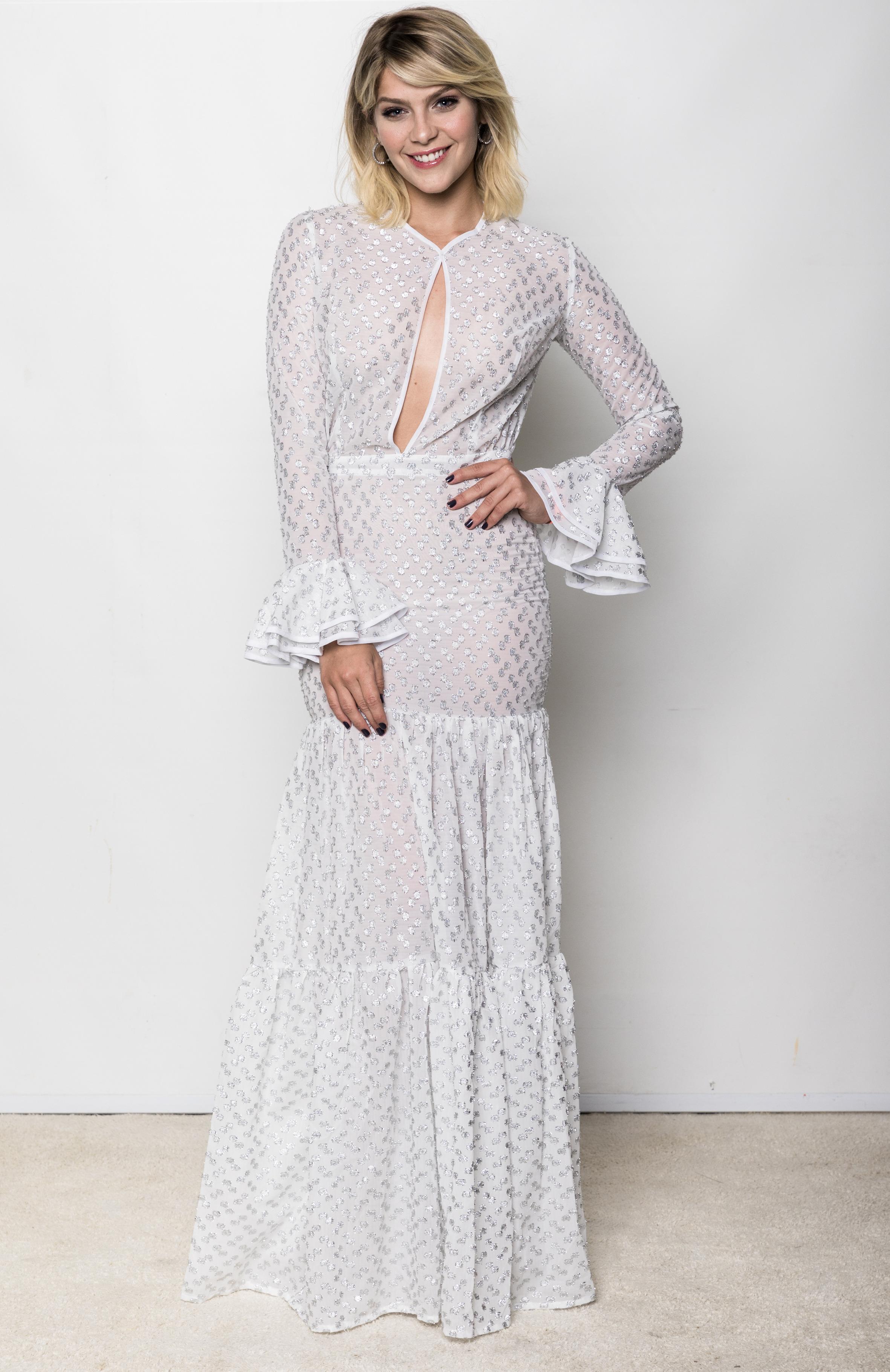 Isabella Santoni vestido branco