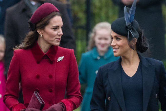 Kate Middleton e Meghan Markle Natal real