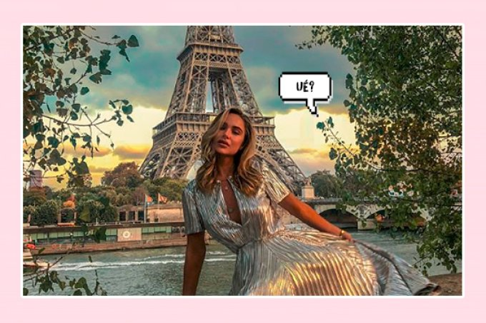 'Parisiana de Taubaté'? Influencer famosa admite que photoshopou fotos