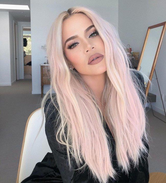 khloe-kardashian-cabelo-rosa