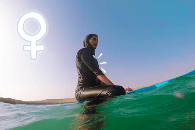 Revolução feminina: conheça Shahla Yasini, a primeira surfista do Irã