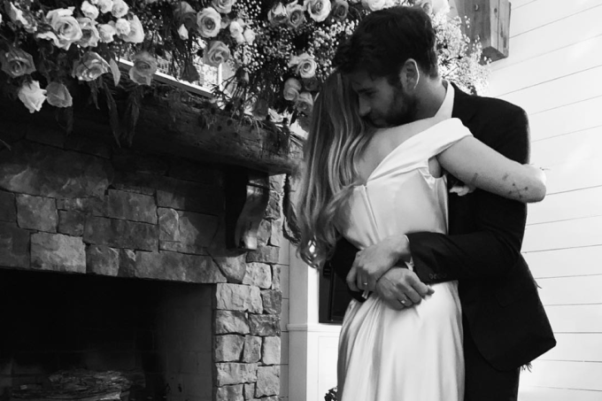 Casamento Miley Cyrus e Liam Hemsworth